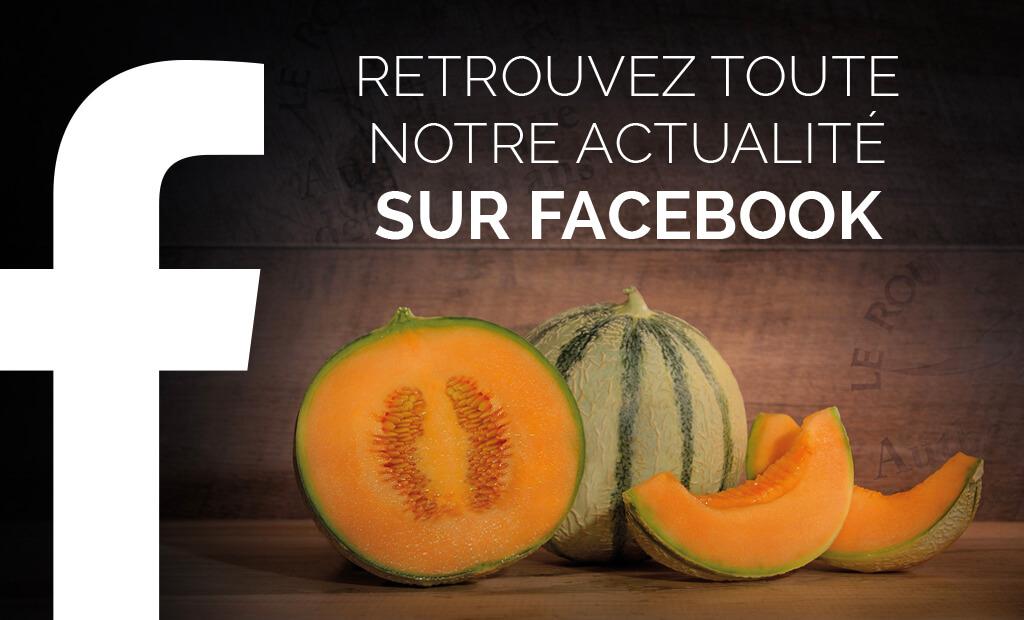Suivez les melons Le Rouge Gorge sur Facebook